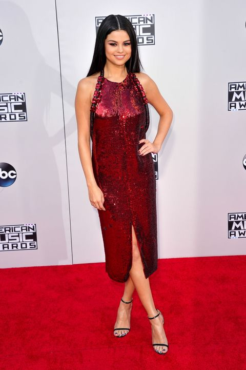 <p>Attending the 2015 American Music Awards, November 22.</p>