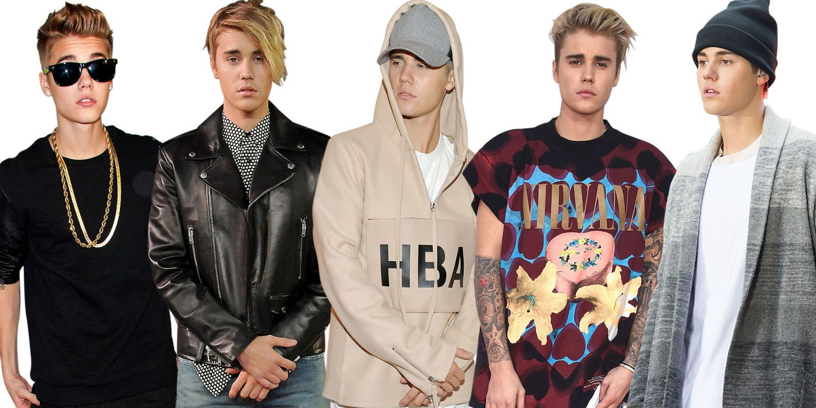 """Luxurious Fabrics,"" Leather T-Shirts, and Other Style Mandates From Justin Bieber"