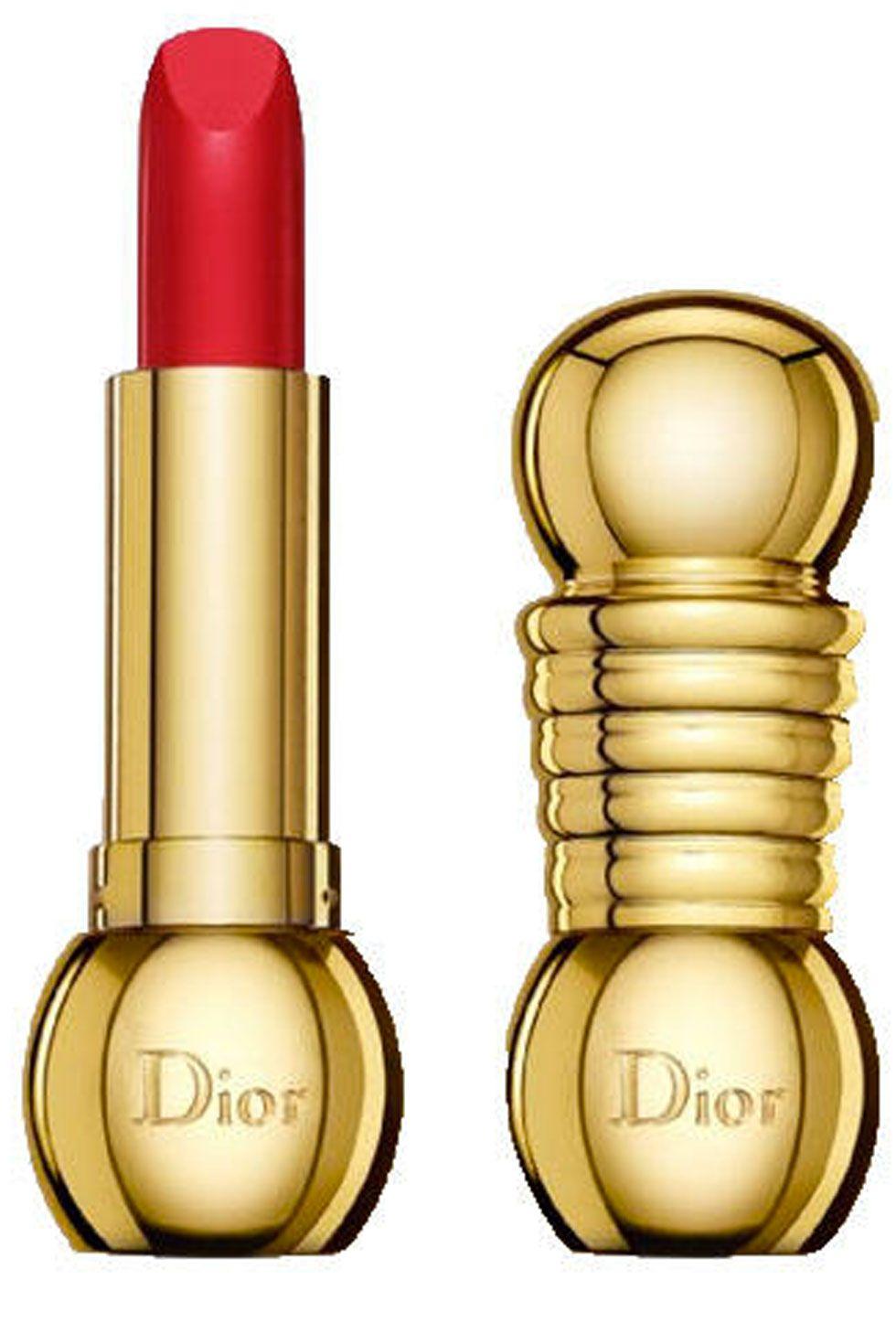 """<p>Dior Diorific lipstick in Dolce Vita, $38; <a href=""""http://www.amazon.com/Christian-Dior-Diorific-Wearing-Lipstick/dp/B0002DNHR8"""">amazon.com</a></p>"""