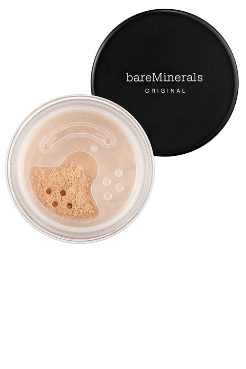 """I've been using BareMinerals products since high school—I had acne then, and it didn't break out my skin. I still use it today because I love the solid ..."