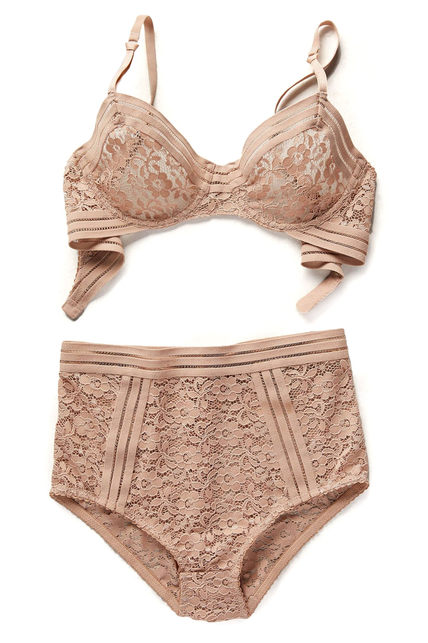 "<p>Lonely Agnes Underwire Bra, $86&#x3B; <a href=""http://www.anthropologie.com/anthro/product/36267250.jsp#/"" target=""_blank"">anthropologie.com</a></p><p>Lonely Agnes High-Rise Brief, $52&#x3B; <a href=""http://www.anthropologie.com/anthro/pdp/detail.jsp?id=36267466&color=023#/"" target=""_blank"">anthropologie.com</a></p>"