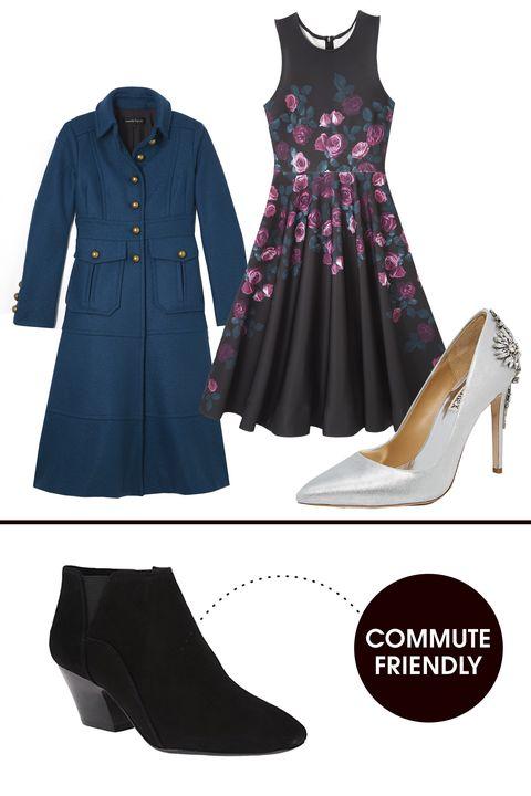Product, Sleeve, Collar, Textile, White, Dress, Pattern, Formal wear, Fashion, Black,