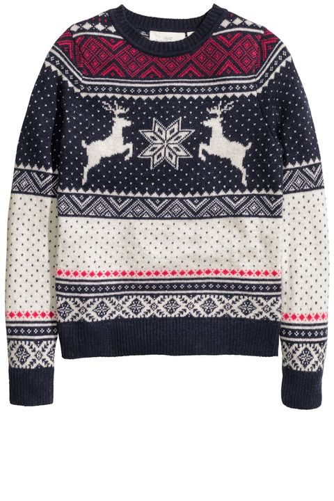 "<p>H&M knit sweater, $34.99, <a href=""http://www.hm.com/us/product/35326?article=35326-F"" target=""_blank"">hm.com</a></p>"