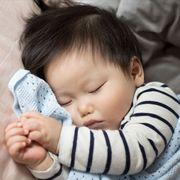 Human, Finger, Cheek, Skin, Comfort, Child, Baby & toddler clothing, Logo, Nap, Toddler,