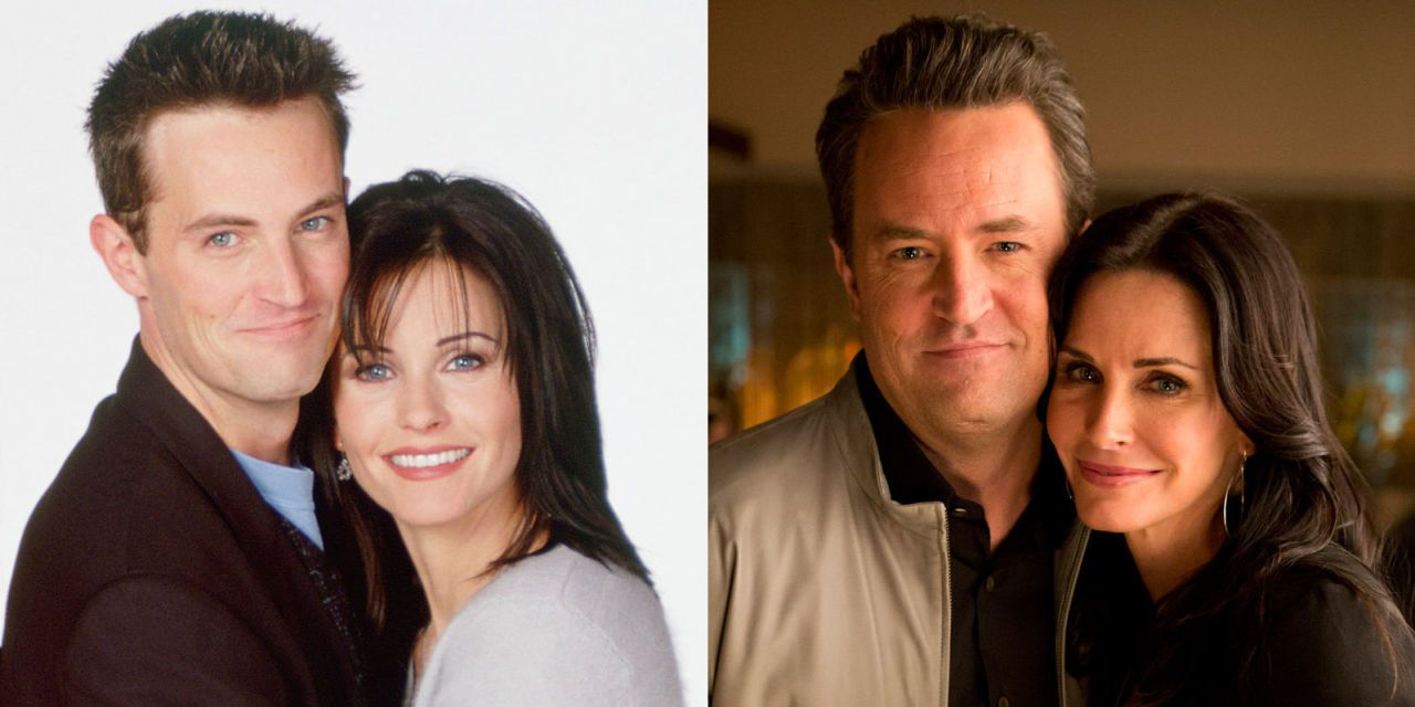 What episode does monica and chandler start dating