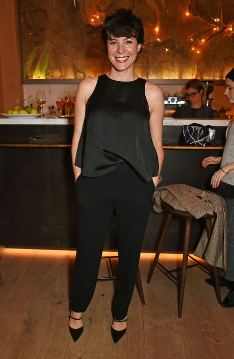 "LONDON, ENGLAND - DECEMBER 14:  Garance Dore attends a private VIP dinner hosted by Club Monaco and Garance Dore in celebration of the ""Love Style Life"" book tour at Spring at Somerset House on December 14, 2015 in London, England.  