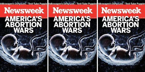 Newsweek Cover Abortion Fetus