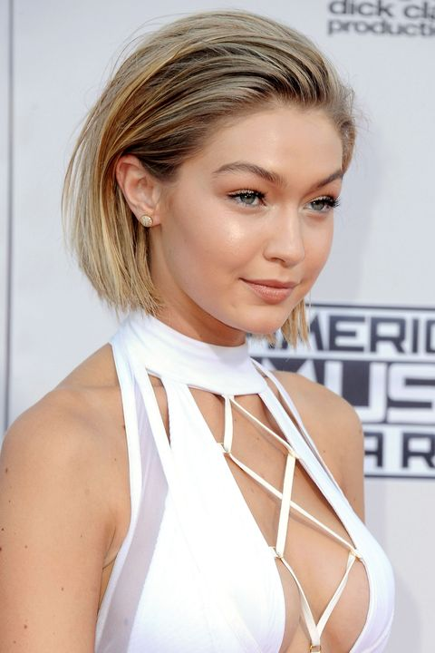 """<p>Mega model Gigi Hadid caused a stir when her millions and millions of followers thought she'd <a href=""""http://www.elle.com/beauty/hair/news/a32065/gigi-hadid-debuts-the-half-wig/"""" target=""""_blank"""">lopped off her long hair.</a> She didn't. Although, this is a pretty good argument for taking it all off.   </p>"""