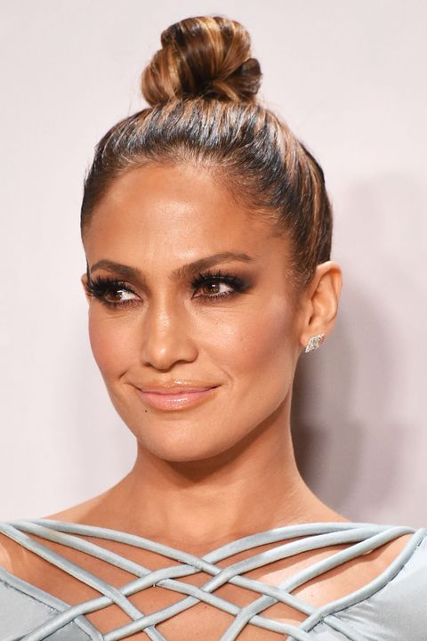 """<p>For <a href=""""http://www.elle.com/beauty/a32853/jennifer-lopez-b..."""" target=""""_blank"""">mega-lit cheekbones</a>, blend L'Oréal Paris True Match Lumi Liquid Glow Illuminator in Ice and Rose along cheekbones and temples, down the bridge of the nose, over the cupid's bow, and beneath the brow bone. <br></p>"""
