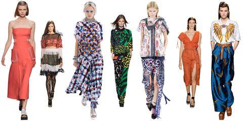 Footwear, Shoulder, Joint, Standing, Style, Pattern, Waist, Fashion model, Dress, Fashion,