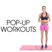 Watch the first video of Kayla Itsines's four-part workout made for ELLE.com.