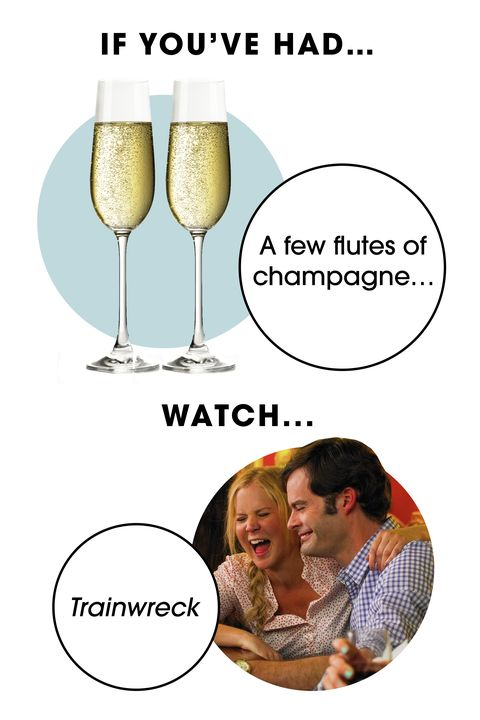 <p>Two glasses of champers should be just the right amount to get you and your loved ones through the crudely hilarious opening scene of <em>Trainwreck</em>, Amy Schumer's surprisingly tender comedy about gender-agnostic commitment issues.</p>