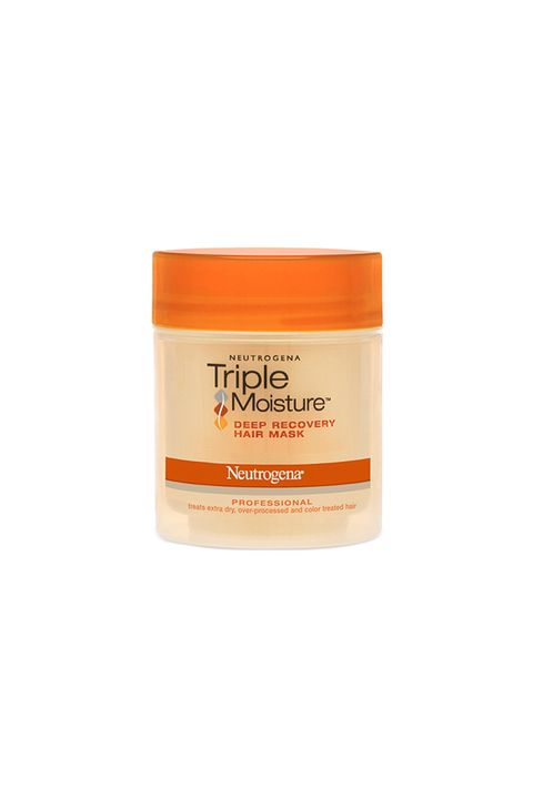"""<p>This mask leave your hair feeling silky and looking shiny and it's under $10. Yeah, we'll take one. </p><p><strong>Triple Moisture Deep Recovery Hair Mask, $7.49; <a href=""""http://www.neutrogena.com/product/triple+moisture+deep+recovery+hair+mask.do"""">neutrogena.com</a>. </strong></p>"""