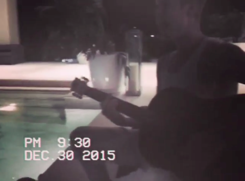 Here's Justin Bieber Giving You a Romantic Acoustic Serenade
