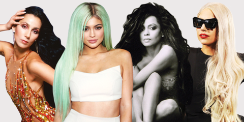 The 15 Most Drastically Long Celebrity Hairstyles of All Time