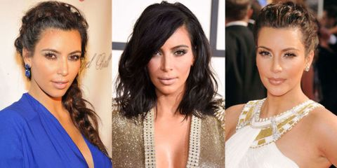 Kim Kardashian's Complete Beauty Evolution