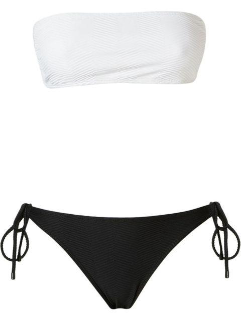"<p>Osklen Bandeau Textured Bikini Set, $146; <u><a href=""http://www.farfetch.com/shopping/women/osklen-bandeau-textured-bikini-set-item-11128573.aspx?storeid=9682&ffref=lp_pic_30_5_"" target=""_blank"">farfetch.com</a></u></p>"