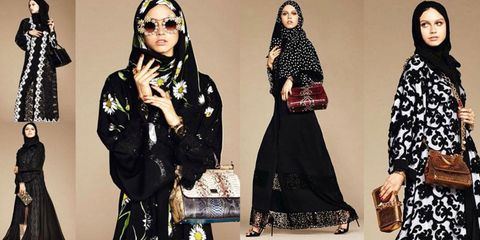 1b4cdfc7dcc Dolce   Gabbana Launches Line of Hijabs and Abayas