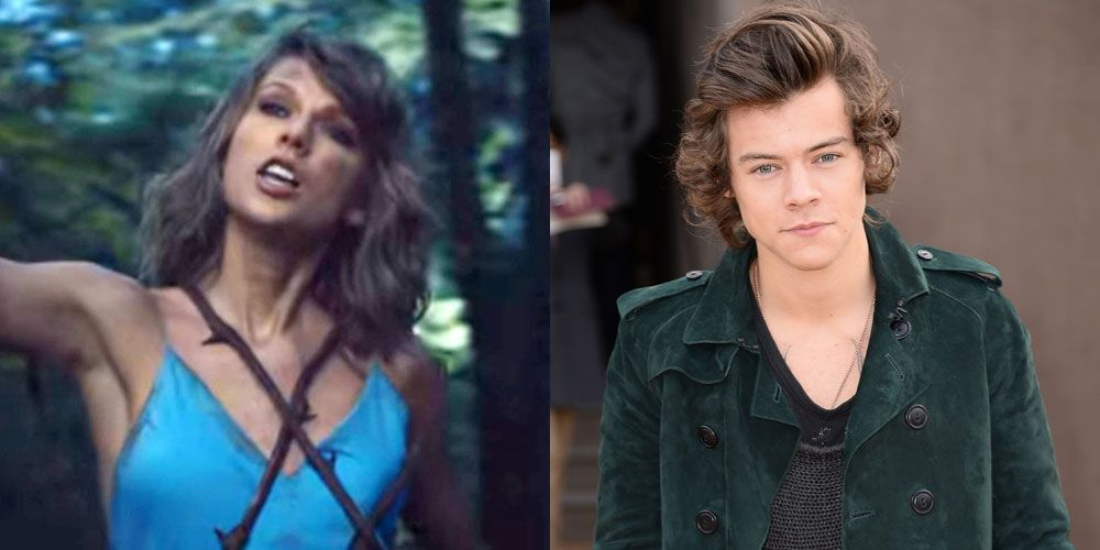 Harry Styles References In Taylor Swift Music Video Harry Styles Callouts In Taylor Swift S Out Of The Woods