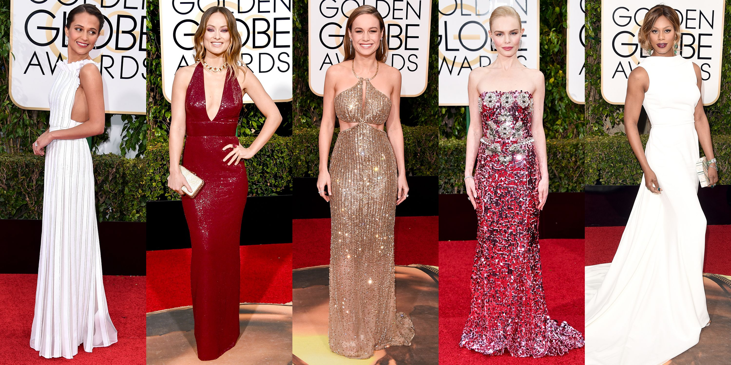 The Best Dresses from the 2016 Golden Globes - Best Dressed Globes