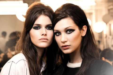 Nose, Lip, Mouth, Eye, Hairstyle, Chin, Eyelash, Eyebrow, Style, Fashion model,