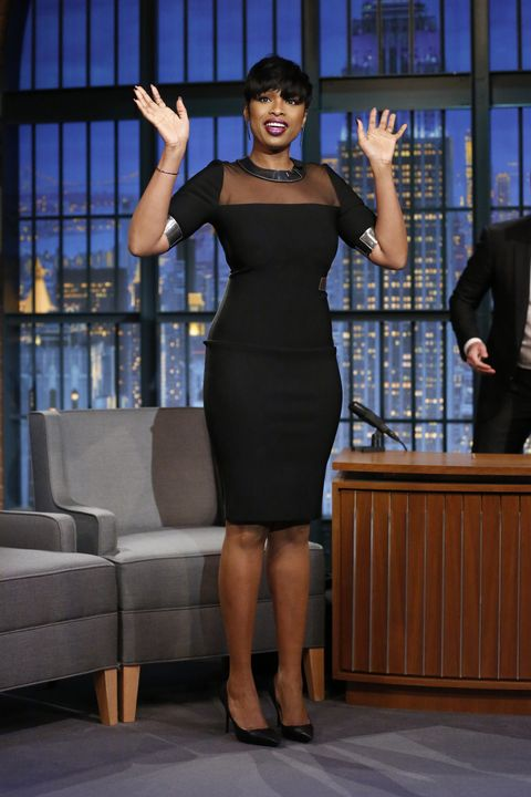 <p>Who: Jennifer Hudson</p><p>When: January 4, 2015</p><p>Why: With Valentine's Day right around the corner, Jennifer Hudson gives us ideas for how to sizzle in an LBD with her Mugler pick. </p>