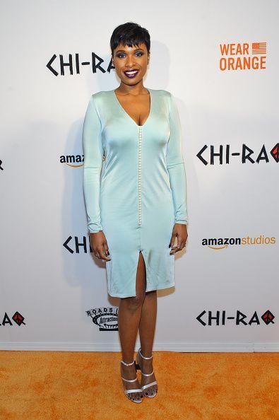 Jennifer Hudson at the 'Chi-Raq' premiere.