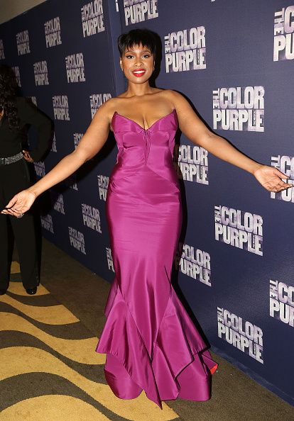 Jennifer Hudson at 'The Color Purple' after party.