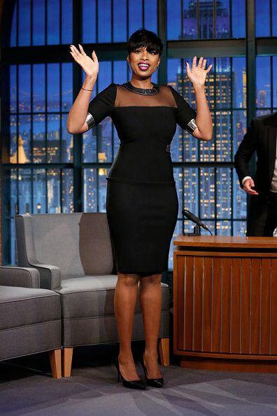 Jennifer Hudson on 'Late Night with Seth Meyer'