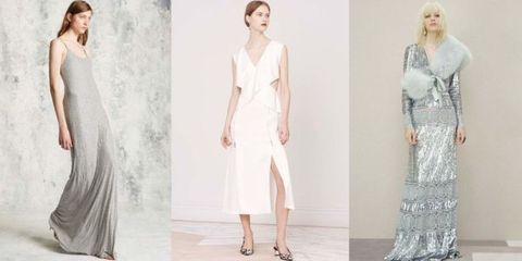 Clothing, Sleeve, Shoulder, Textile, Joint, White, Formal wear, Dress, Style, Waist,