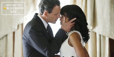 Tony Goldwyn Describes How To Do A Scandal Sex Scene Filming Tv