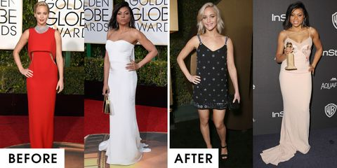 Golden Globes After Parties 2016 Outfit Changes