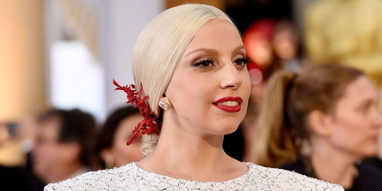 """Lady Gaga on Her Oscar Nom: """"I Am Honored to Represent the Voice of So Many Survivors"""""""