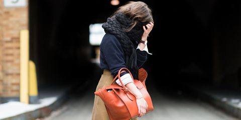 Brown, Bag, Textile, Style, Luggage and bags, Street fashion, Fashion, Travel, Shoulder bag, Leather,