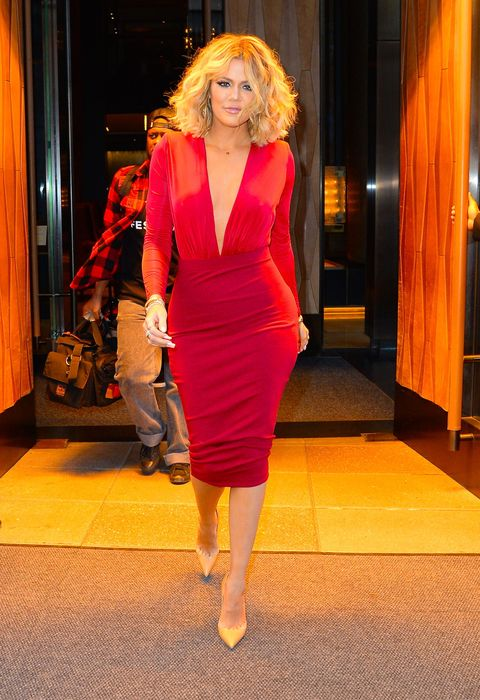 <p>Reigning queen of the revenge bod, Khloe Kardashian continues to make strides with her newfound confidence and va va voom style following her divorce with Lamar Odom. </p>