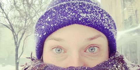 The Snowiest Celeb Instagrams from #Blizzard2016
