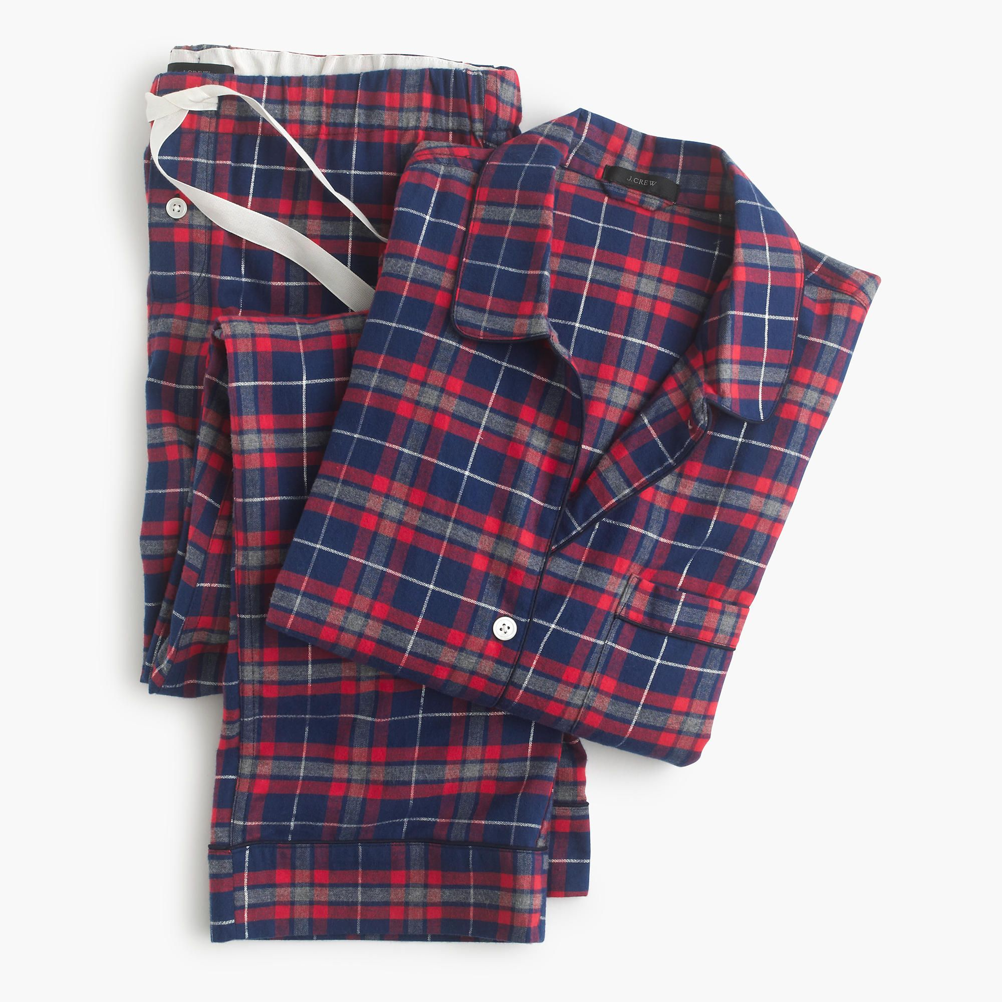 "<p>J.Crew Sparkle Plaid Flannel Pajama Set, $55; <a href=""https://www.jcrew.com/womens_category/sleepwear/PRD~E3823/E3823.jsp?N=17&Nbrd=J&Nloc=en_US&Nrpp=48&Npge=1&Ntrm=pajamas&isSaleItem=true&color_name=HAVEN%20BLUE%20SILVER&isFromSearch=true&isNewSearch=true&hash=row1"">jcrew.com</a><a href=""https://www.jcrew.com/womens_category/sleepwear/PRD~E3823/E3823.jsp?N=17&Nbrd=J&Nloc=en_US&Nrpp=48&Npge=1&Ntrm=pajamas&isSaleItem=true&color_name=HAVEN%20BLUE%20SILVER&isFromSearch=true&isNewSearch=true&hash=row1""></a></p><p><strong>How soon can I get them?</strong> For $25, you can receive them in one to two business days.<span class=""redactor-invisible-space""><br></span></p>"