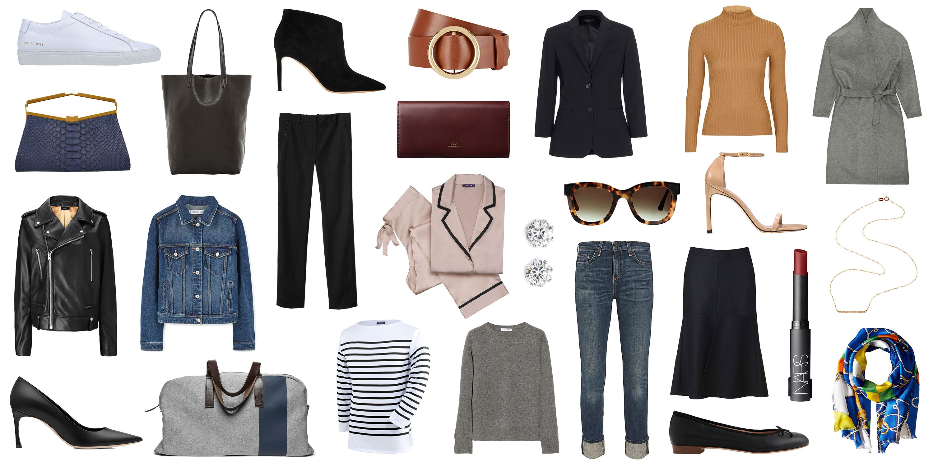30 fashion staples to have by 30 wardrobe essentials to own by