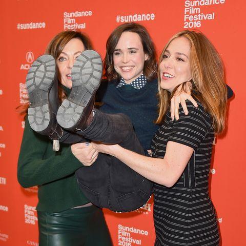 Allison Janney, Ellen Page, and Sian Heder