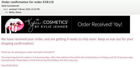 Kylie Jenner Lip Kits Sell Out in 10 Minutes - Kylie Jenner