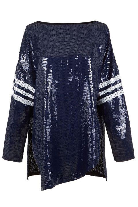 """<p> Tibi All Over Sequins T-Shirt, $875; <a href=""""http://www.tibi.com/shop/tops/baseball-sequins-t-shirt"""" target=""""_blank"""">tibi.com</a></p>"""