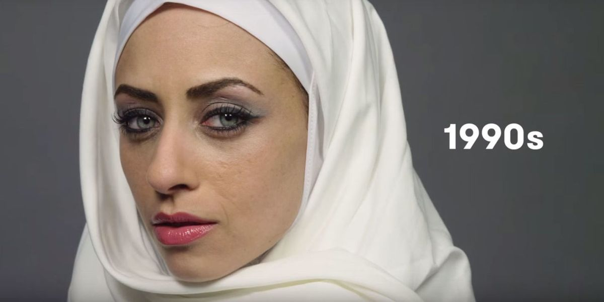 Watch This Woman Model 100 Years of Egyptian Beauty in 2 Minutes