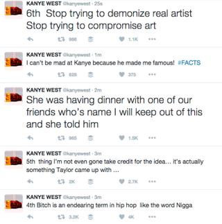 Kanye West Tries to Clarify Those Lyrics About Taylor Swift