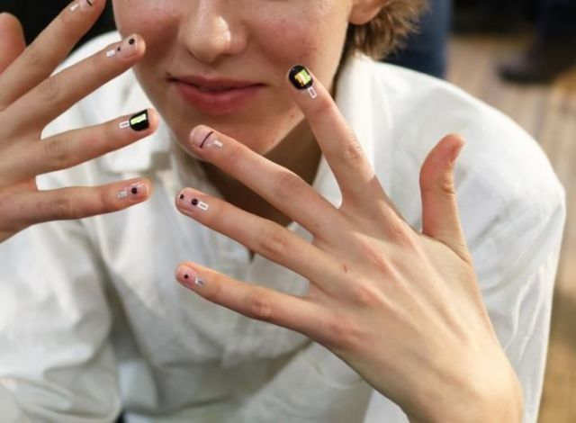 Why cuticle stickers are the new nail art koreas most famous nail artist is tired of splashy like bait designs and over the top polish instead she wants to embellish your cuticles prinsesfo Image collections