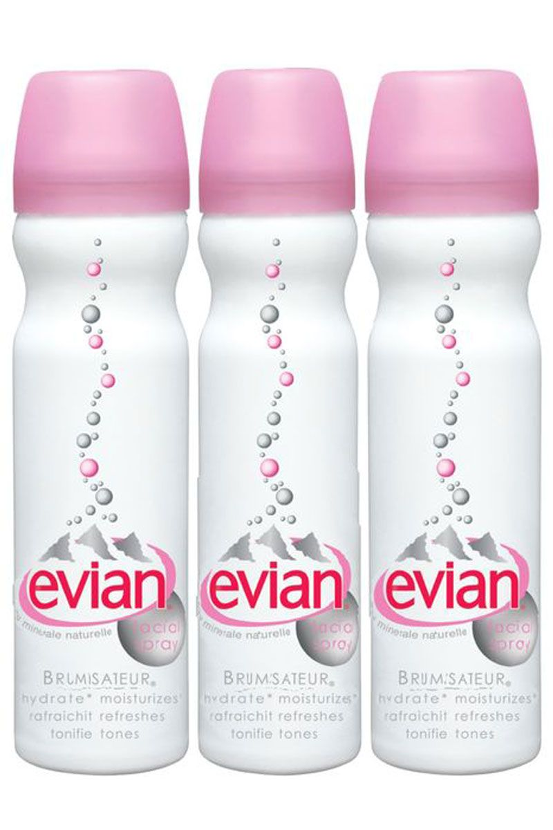 "<p>How to refresh your face in the morning without stepping foot in a strange bathroom: Face mist.</p><p><span></span><em>Evian Travel Trio Face Spray, $21; <a href=""https://urldefense.proofpoint.com/v2/url?u=http-3A__www.sephora.com_travel-2Dtrio-2DP2046-3FskuId-3D112706&d=CwMFaQ&c=B73tqXN8Ec0ocRmZHMCntw&r=JxtuMxSLmpT6QI3h9MLS5fEE-lb0aSw__dixZA8AWBU&m=abo05yP4SDlV4InqyAwDV8MUdyuwgC1OAIzRNKadou4&s=gAxJcu1HQWtzkKEf1Dtg407fErle4-FlVGnSuK3cD5Q&e="">sephora.com</a></em></p>"