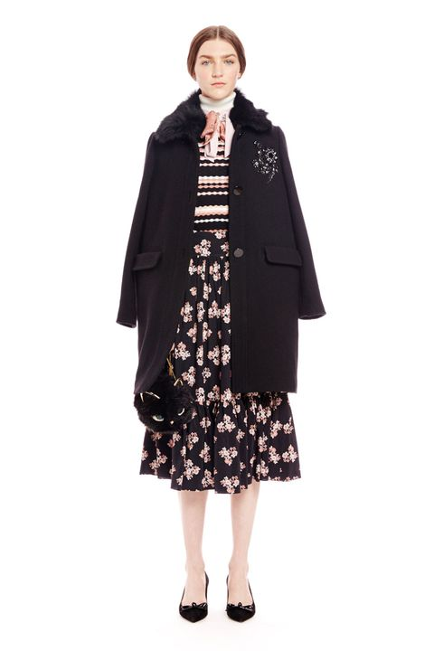 Clothing, Coat, Sleeve, Collar, Textile, Overcoat, Standing, Outerwear, Style, One-piece garment,