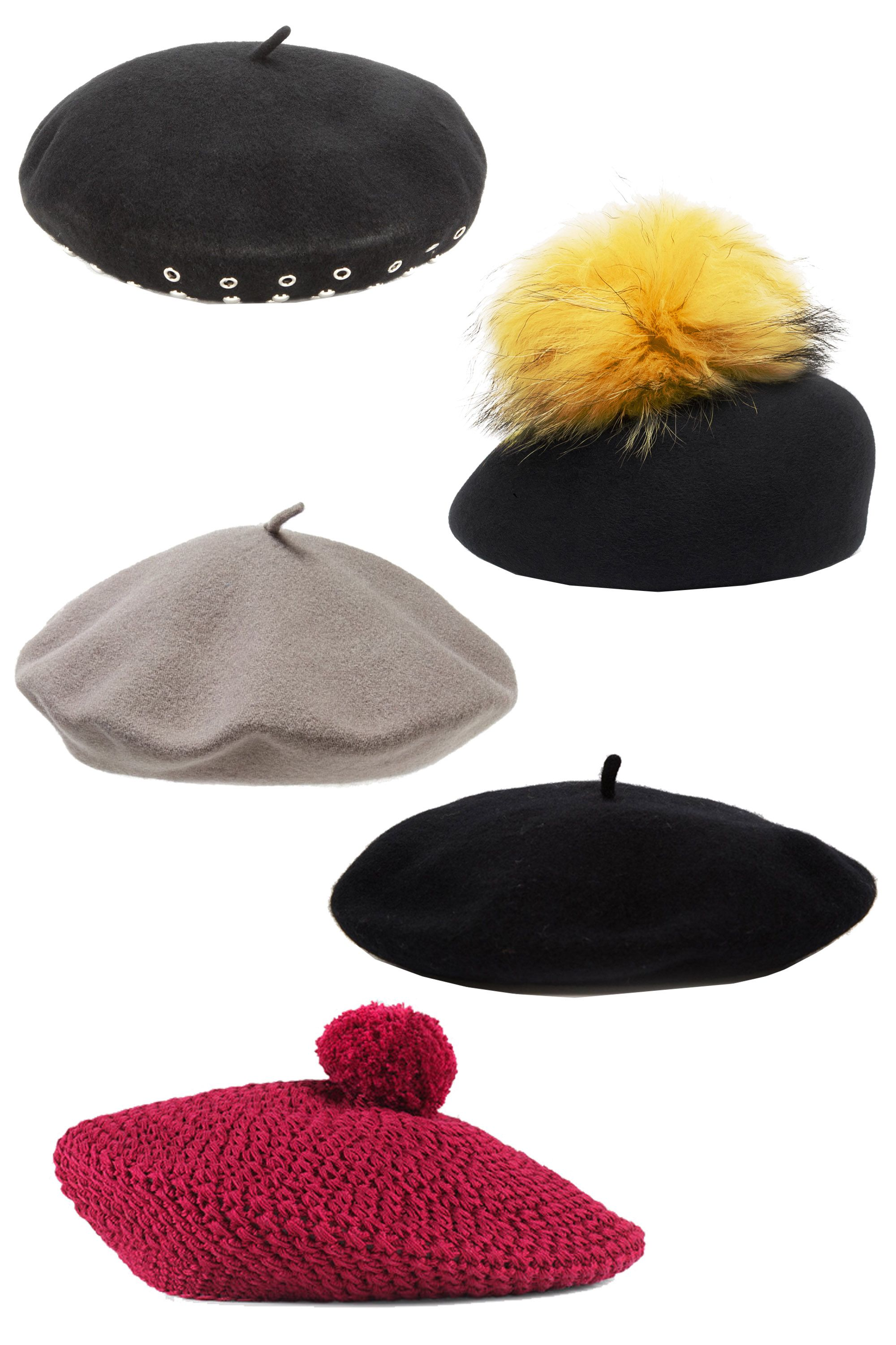 """<p>Speaking of Gucci, the brand's knitted pom hats have us reconsidering winter headgear. This season we're guessing street style stars will choose the beret over the beanie. </p><p><em>Marc by Marc Jacobs Number 1 Embellished Wool Beret, $281; <a href=""""http://www.mytheresa.com/en-us/number-1-embellished-wool-beret.html"""" target=""""_blank"""">mytheresa.com</a></em></p><p><em>Eugenia Kim Coco, $203; <a href=""""http://www.eugeniakim.com/coco-1/#.VrjxtpM11bw"""" target=""""_blank"""">eugeniakim.com</a></em></p><p><em>Parkhurst Classic Wool Beret, $24; <a href=""""http://shop.nordstrom.com/s/parkhurstclassic-wool-beret/4173964?origin=keywordsearch-personalizedsort&contextualcategoryid=0&fashionColor=Graphite&resultback=353"""" target=""""_blank"""">nordstrom.com</a></em></p><p><em>ASOS Wool Beret, $21; <a href=""""http://us.asos.com/ASOS-Wool-Beret/1758z5/?iid=5558430&clr=Black&SearchQuery=beret&pgesize=2&pge=0&totalstyles=2&gridsize=3&gridrow=1&gridcolumn=2&mporgp=L2Fzb3MvYXNvcy13b29sLWJlcmV0L3Byb2Qv"""" target=""""_blank"""">asos.com</a></em></p><p><em>Gucci Knit Cotton hat, $410; </em><a href=""""https://www.gucci.com/us/en/pr/men/mens-accessories/mens-hats-gloves/knit-cotton-hat-p-4110483G1116100?position=21&listName=ProductGridWComponent&categoryPath=Women/Womens-Accessories/Womens-Hats-Gloves"""" target=""""_blank""""><em>gucci.com</em></a></p>"""