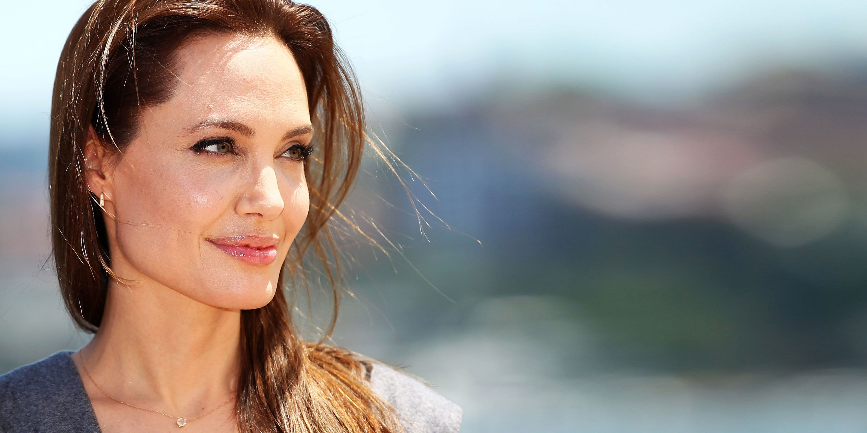 Angelina Jolie Used Herself as a Shield to Protect Kids From a Mob in Greece pictures