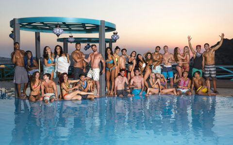 Fun, People, Swimming pool, Social group, Leisure, Tourism, Summer, Swimwear, Vacation, Resort,