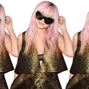 Clothing, Eyewear, Glasses, Vision care, Sunglasses, Fashion accessory, Style, Blond, Cool, Fashion,